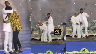 Rev. Obofour Grinds His Wife In Church When Fameye Surprised Them During Service