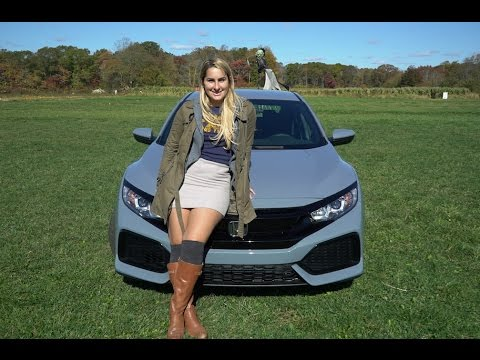 2017 Civic Hatchback Lx Base Model Review And Test Drive Herb Chambers Honda Of Seekonk You