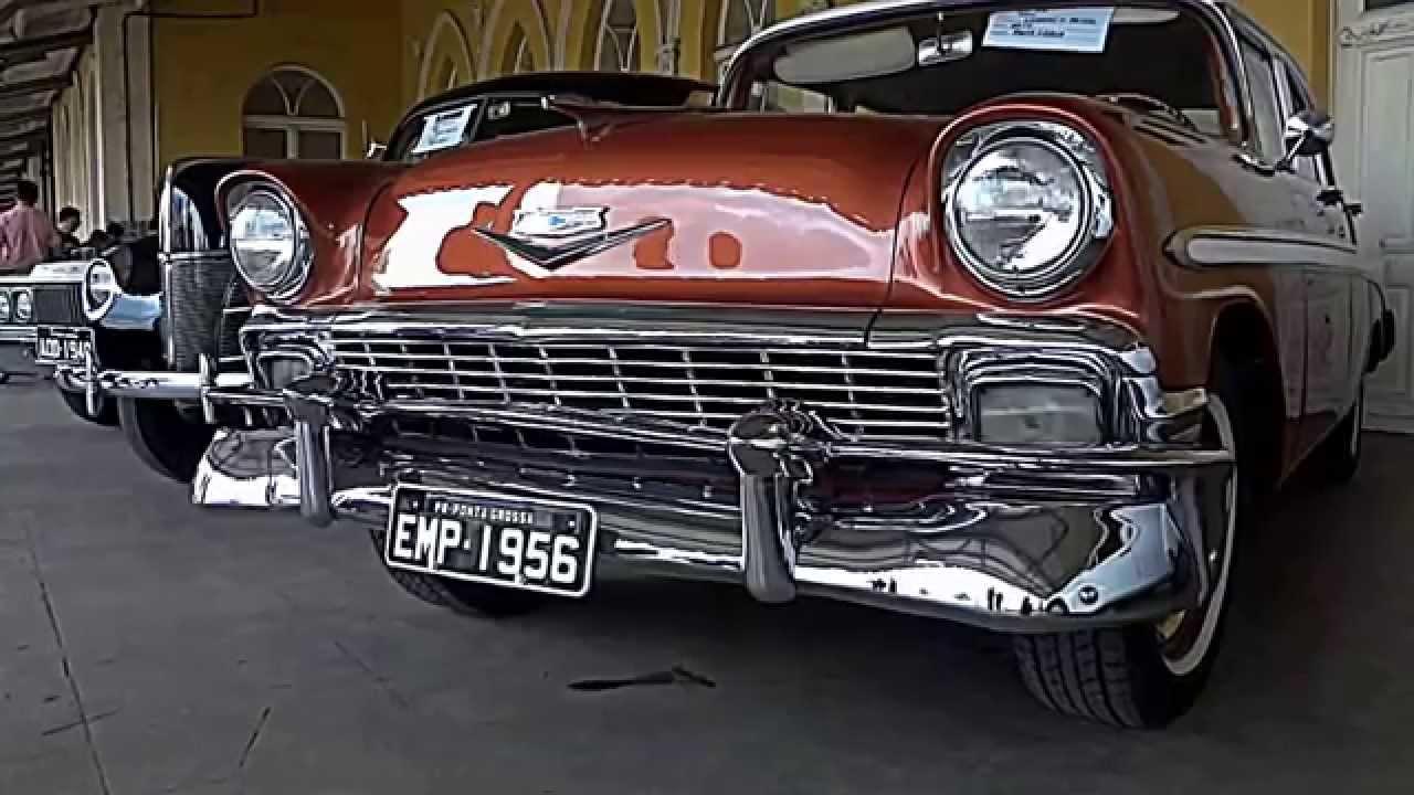 Showroom Chevrolet Bel Air Encontro De Carros Antigos De