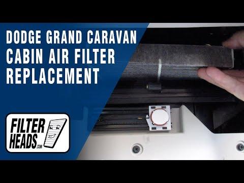 How to Replace Cabin Air Filter 2011 Dodge Grand Caravan