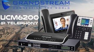 Grandstream UCM6200 IP PBX System Dubai | UCM 6202, UCM6204, UCM6208