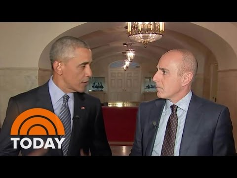Obama On Why He's A Better Father As President, And The Impact Of Sandy Hook | TODAY