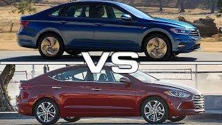 2019 Volkswagen Jetta vs 2018 Hyundai Elantra