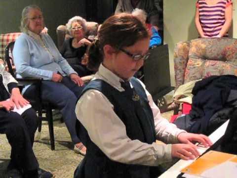 Prep School Choir Sings At Berkeley Seniors Residence