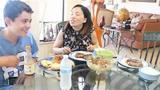 Vlog 182 ll Ăn tối với thịt bò bít tết và món Tony Taco