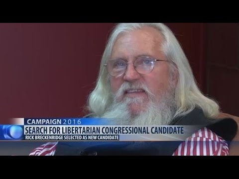 Interview w/ Rick Breckenridge - Libertarian - US House - Montana - At Large - 2016