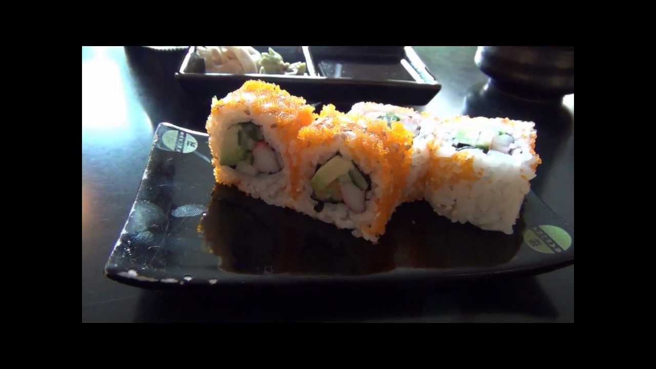japanisch essen in leipzig i sakura kaiten sushi bar youtube. Black Bedroom Furniture Sets. Home Design Ideas