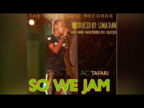 AC Tafari - So We Jam (Antigua 2018 Jr Soca)