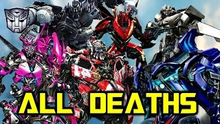 ALL PERMANENT AUTOBOT Deaths SO FAR Within The Transformers Movie Franchise! (1-5)