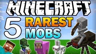 ✔ Top 5 Rarest Mobs in Minecraft