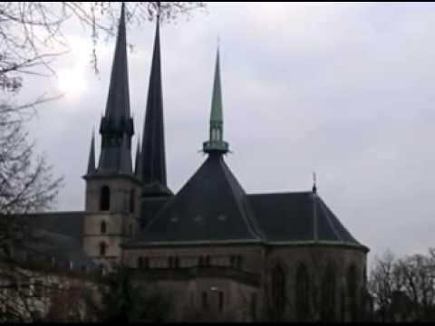 les cloches de Luxembourg. la cathédrale/ Luxemburg bells and cathedral