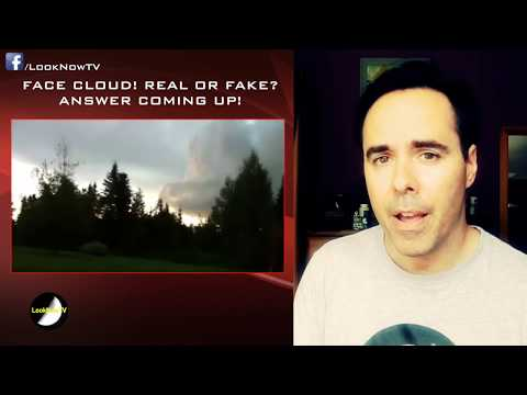 UK Woman Records FOREST UFO! Mysterious Face In CLOUD 7/15/2016
