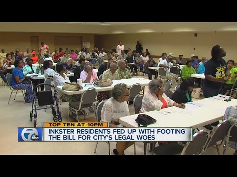 Inkster residents fed up with paying the city's legal bills