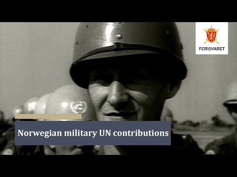 Norwegian military UN contributions