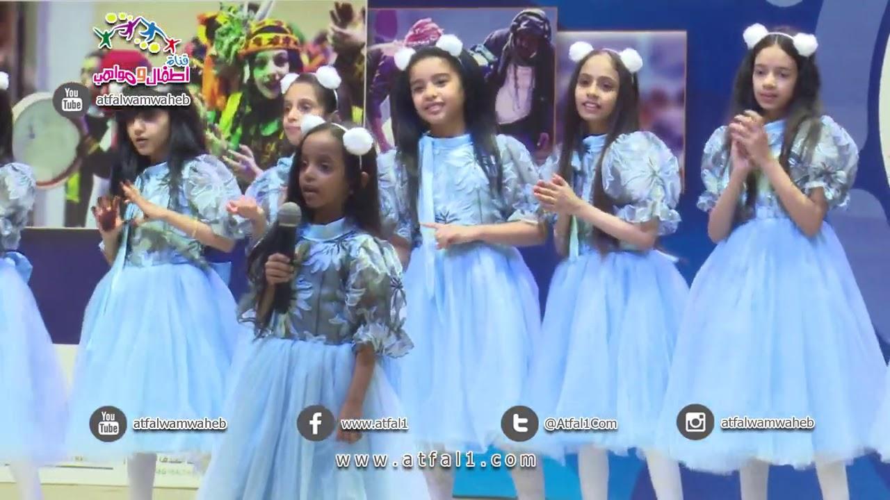 #اطفال_ومواهب لاول مرة نشيد الين وابتهال ابوجبل في مهرجان وسام البادية٢ في المندق