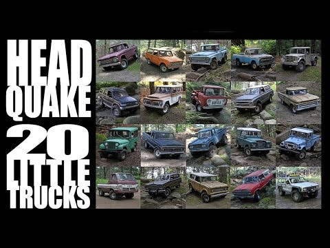 Headquake's RC - #227 (20 Little Trucks) March 2017