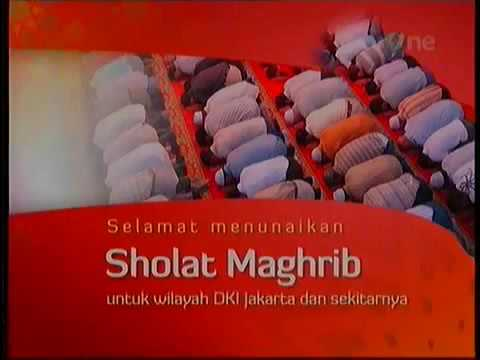 Adzan Merdu Sholat Maghrib TV One Mp3