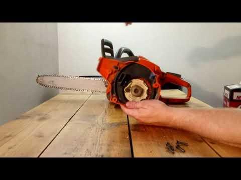 """Chainsaw Husqvarna 236 e-series Defective spring """"e-series"""" start"""