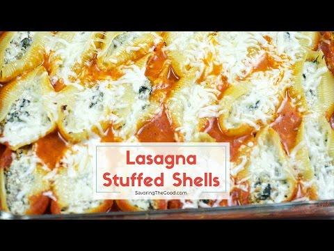 Lasagna Stuffed Shells Recipe