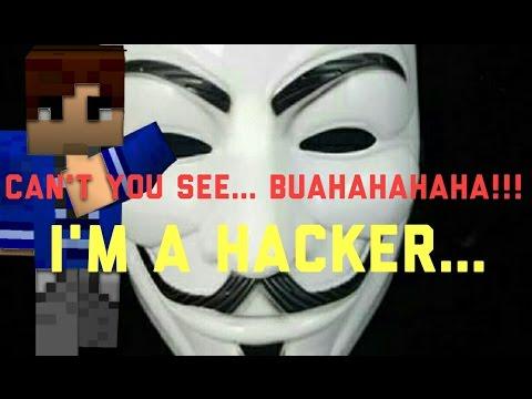 MINECRAFT | I am Hacking Hacker in my world