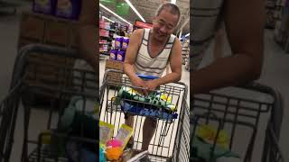 My dad and I go to Walmart While on Vacation // Kylie Moy