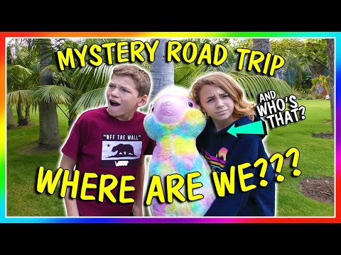 MYSTERY ROAD TRIP TO ???? | We Are The Davises