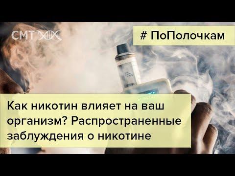 Как никотин влияет на наш организм?