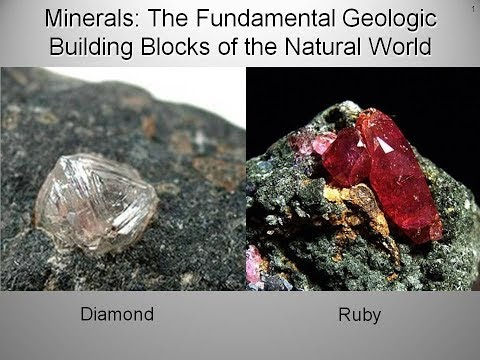 Minerals: the Fundamental Geologic Building Blocks of the Natural World