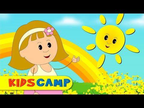 Yellow Song | Nursery Rhymes And Kids Songs by KidsCamp