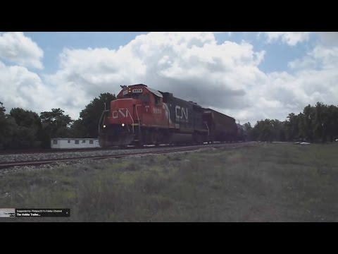 "Northbound Canadian National L536 ""Greenwood Switcher""- Glendora, Mississippi"