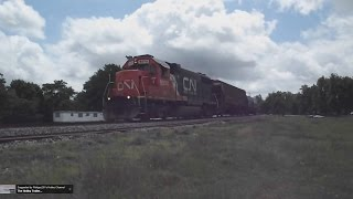 Northbound CN Transfer Train- Glendora, Mississippi