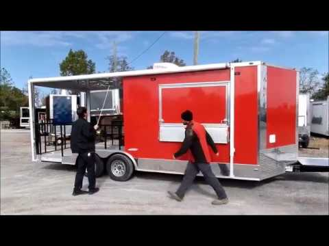 Concession Trailer Awning Video