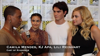 60 Seconds with Riverdale's Camila Mendes, KJ Apa, Lili Reinhart