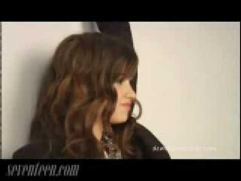 Demi Lovato interview for Seventeen Prom magazine
