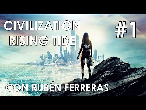 Civilization Beyond Earth: Rising Tide #1   Alianza Mar Norte   Gameplay Español