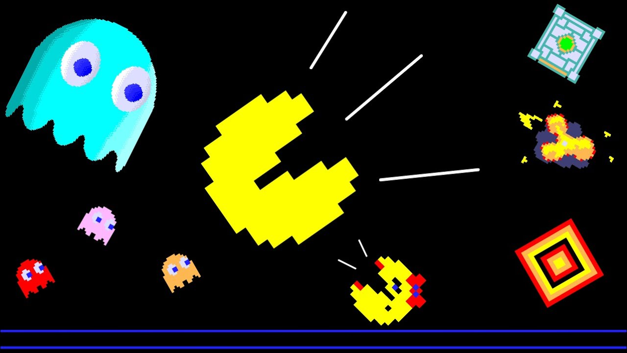 BEST Pac Man Videos Collection!!