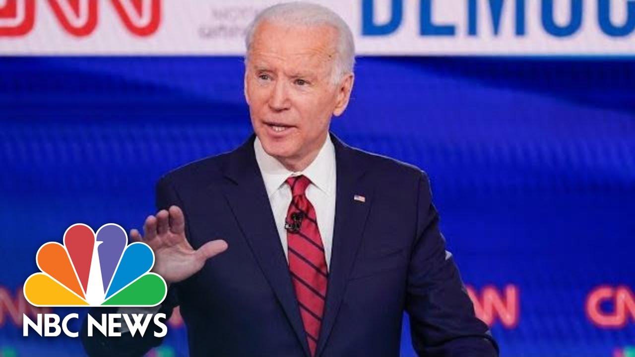 Biden Speaks On Primary Night   NBC News (Live Stream Recording)