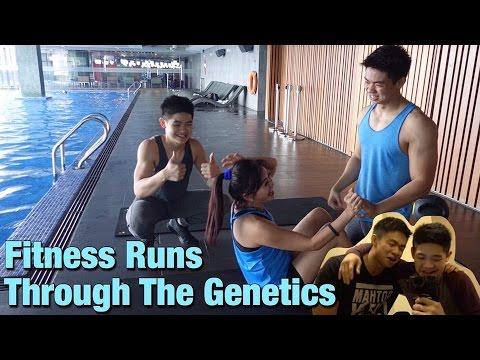 Fitness Runs Through The Genetics (MALAYSIA VLOG)