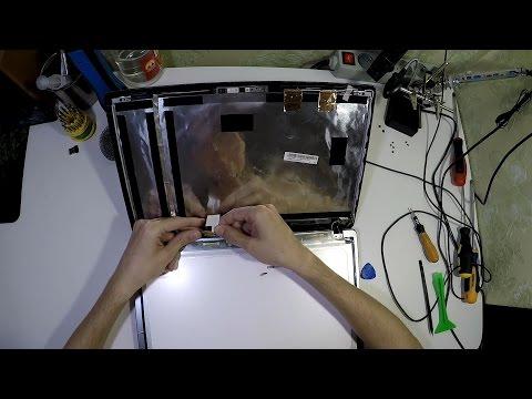Ноутбук Asus X550C Замена Матрицы (Замена Экрана)