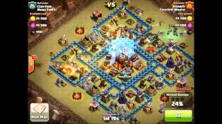 Clash of Clans Crucible Wrath against MEGA nr 1 in the world clan