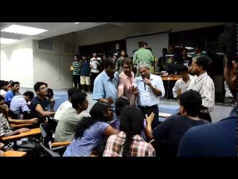 IISER Kolkata director looses his temper