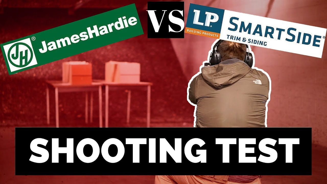 James hardie siding vs lp smartside siding 9mm shooting for Smartside vs hardie