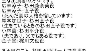 http://amzn.to/2kFJUNM 映画 「秘密」 主演:広末涼子。ある日のバス事...
