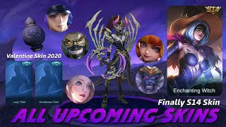 MOBILE LEGENDS ALL UPCOMING SKIN - JANUARY STARLIGHT SKIN 2020 - MOBILE LEGENDS NEW HERO