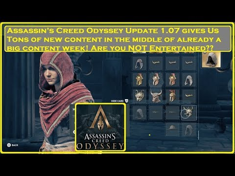 Assassin's Creed Odyssey - MORE CONTENT!!! Update 1.07 thumbnail