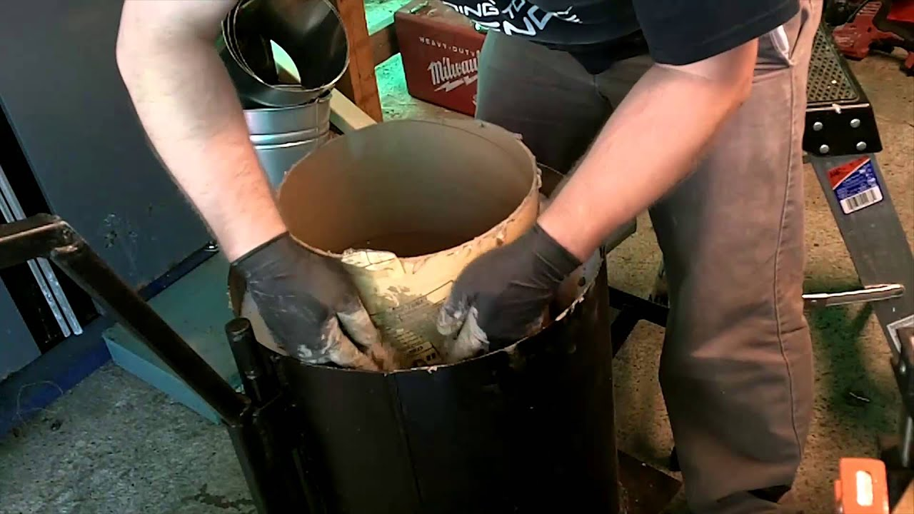 Furnace Build Refractory