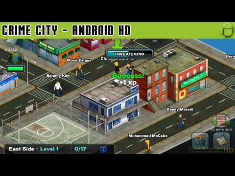 Crime City - Gameplay Android HD / HQ Audio (Android Games HD)