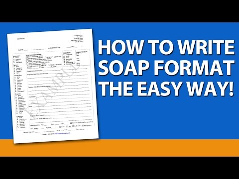 How to Write SOAP Format for Mental Health Counselors