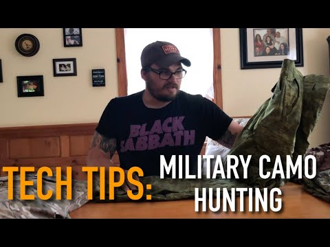 Tech Tips: Using Military Camo For Hunting