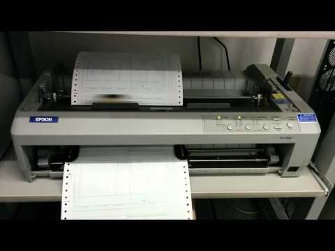 Драйвера на принтер epson fx 890